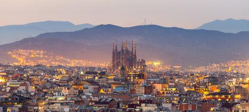 The Sagrada Família basilica