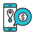 Mobile Marketing Icon 125px by 125px