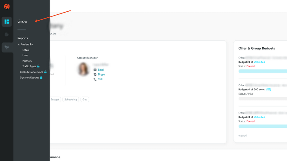 new user-friendly navigation in PerformLEAP